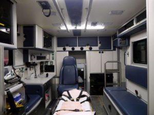 Inside a Modern Ambulance Vehicle