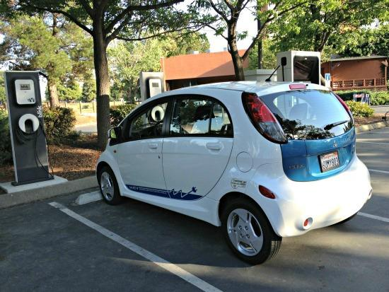 The Mitsubishi miev electric car is not well-known. But it has among the highest E-mag ratings.