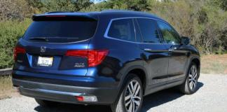 The 2016 Honda Pilot is newly designed inside and outside.