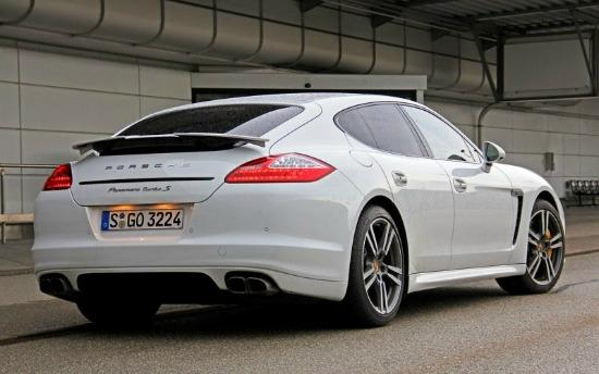 The 2014 Porsche Panamera is plush and fast.