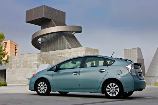 The 2014 Toyota Prius Plug-in models are lowered priced.