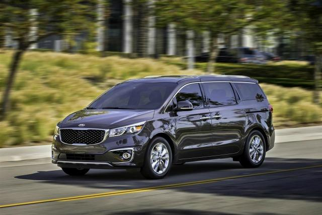 The 2015 Kia Sedona is debut of the minivan's third generation.