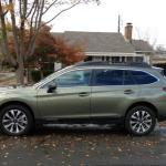 The 2015 Subaru Outback has been redesigned.