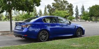 2016 Lexus GS-F: Luxury, performance, attitude