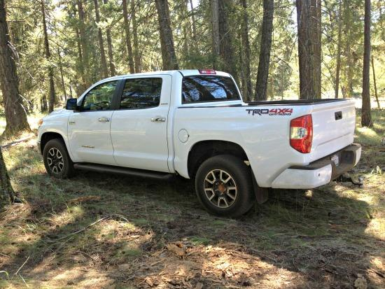 The newly redesigned 2014 Toyota Tundra