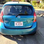 The five-door Nissan Versa Hatchback has a good interior space.
