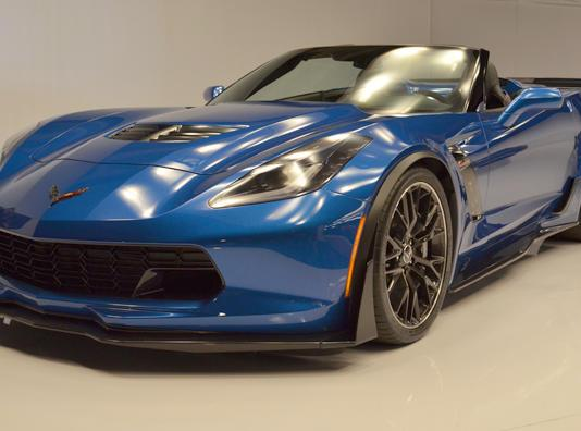 The 2015 Chevrolet Corvette has had two stop orders.