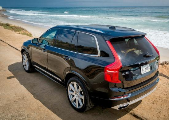 The 2016 Volvo XC90 offers luxury, elegance and safety.