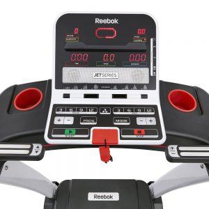 Dashboard of Jet 100 Treadmill