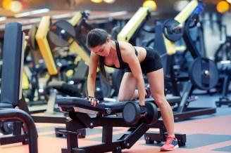Single Arm Row back Workout