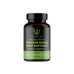 Premium Hemp CBD Softgels 832.5 mg Everyday Formula