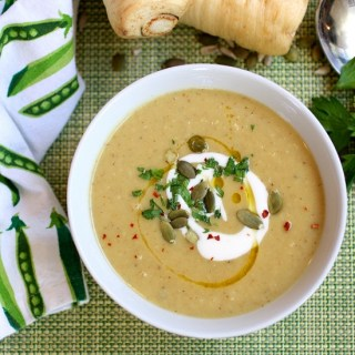 Parsnip Soup – Vegetable Candy!