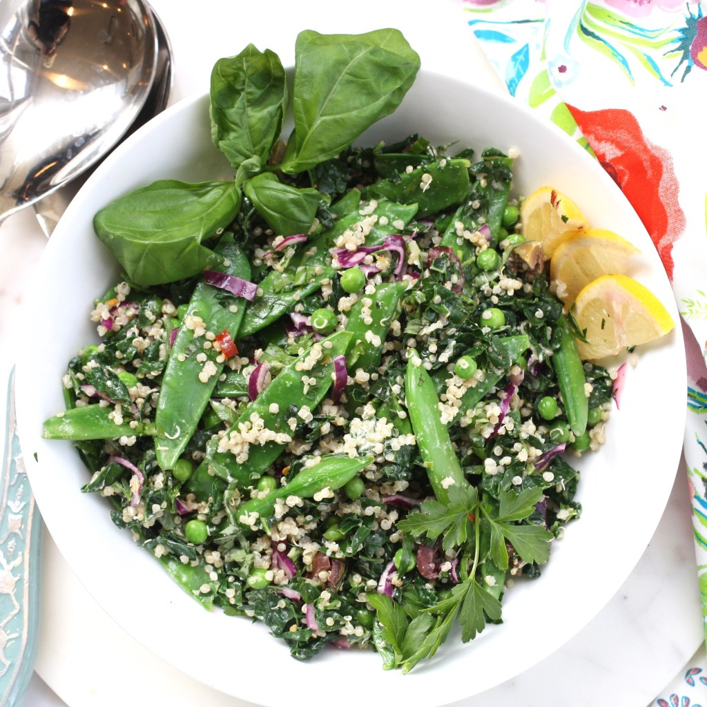 Go Green Quinoa Salad