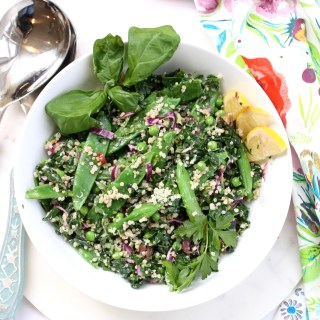 Green Goddess Spring Quinoa Bowl