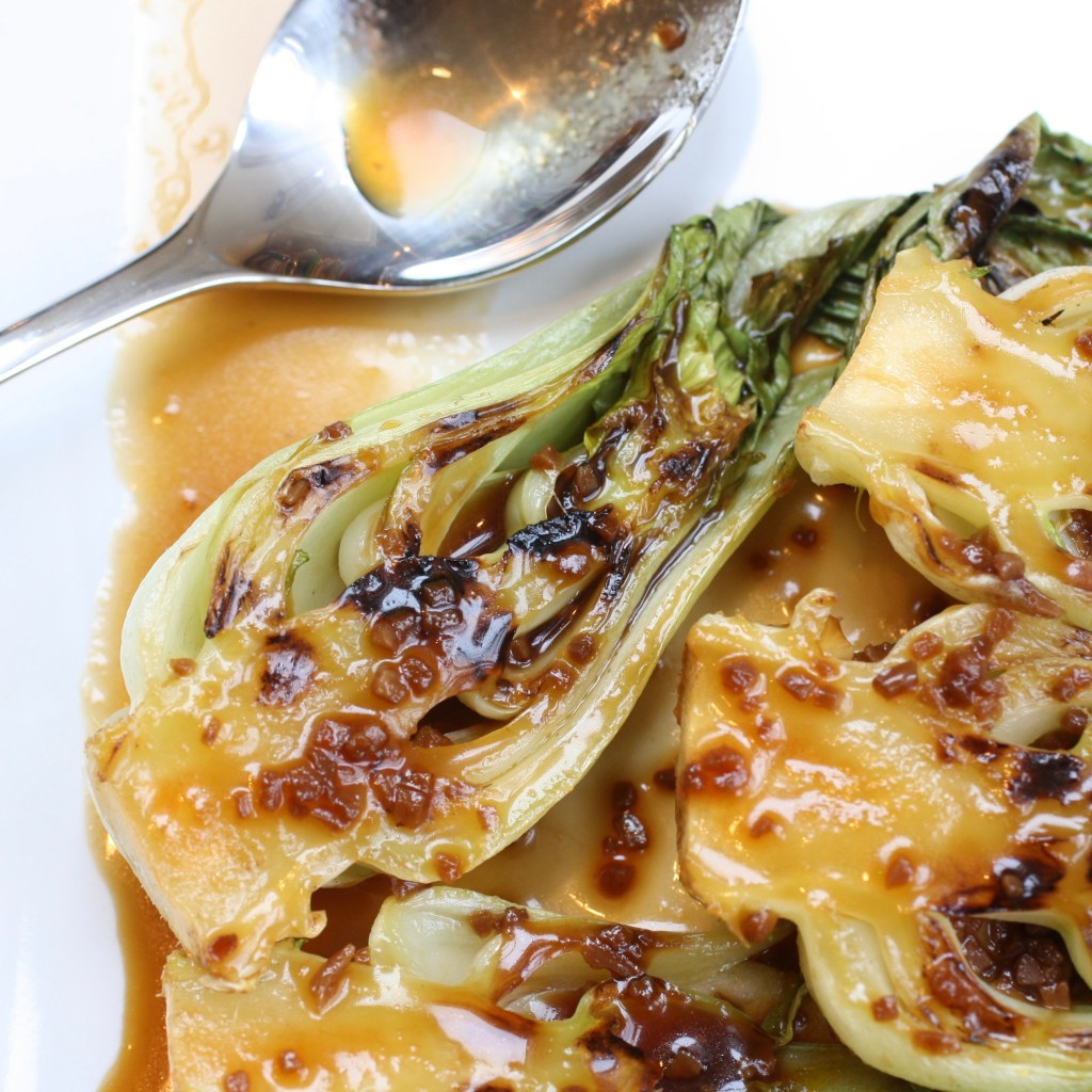 A fingerlicking delicious and easy way to prepare bok choy,