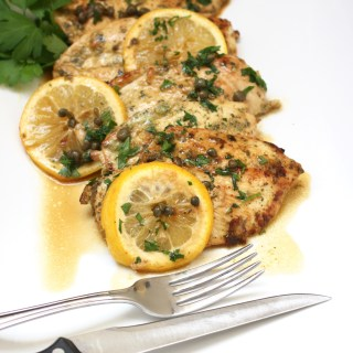 Jolly Nearly Chicken Piccata