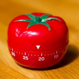 fear of writing web content pomodoro timer