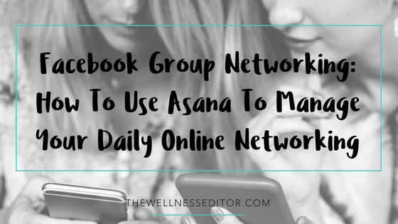 Facebook group networking how to
