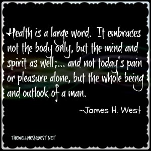Health Quotes - 196 - The Wellness Quest