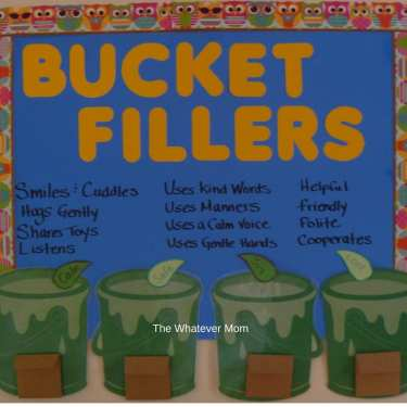 Family Bucket Filler Chart