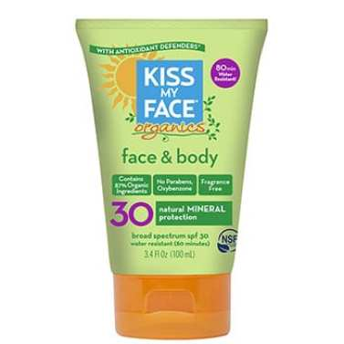 kiss my face sunscreen