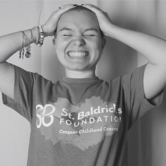 Brave the Shave at St. Baldrick's