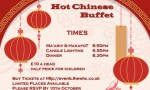 Simchat Torah Chinese Buffet