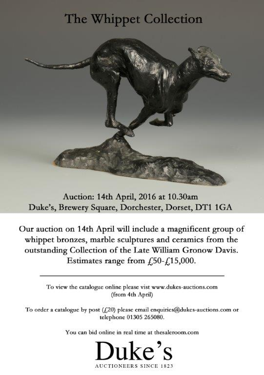 The Whippet Collection flyer