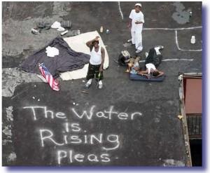 hurricane katrina victims1 300x247 How A Real President Responds To Crisis