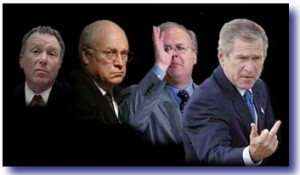 bush cheney regime 300x175 Have Progressives Lost Their Damn Minds?