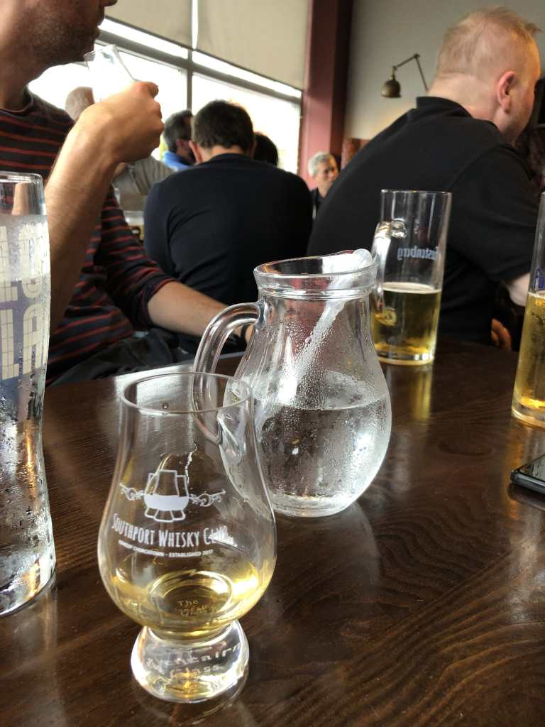 Tomatin Whisky and a Water Jug