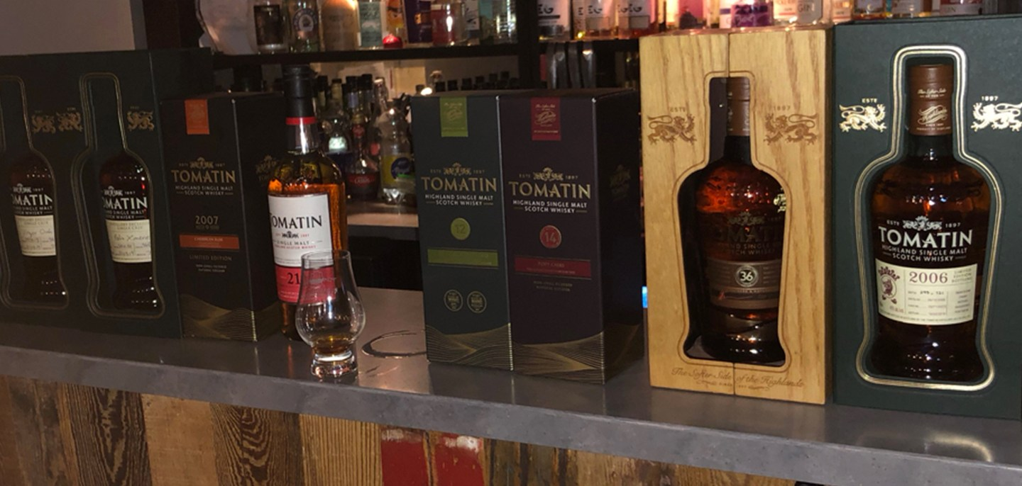 Tomatin – A tasting with Stan Reid