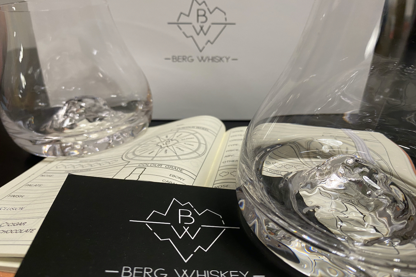 Berg Whisky Glasses