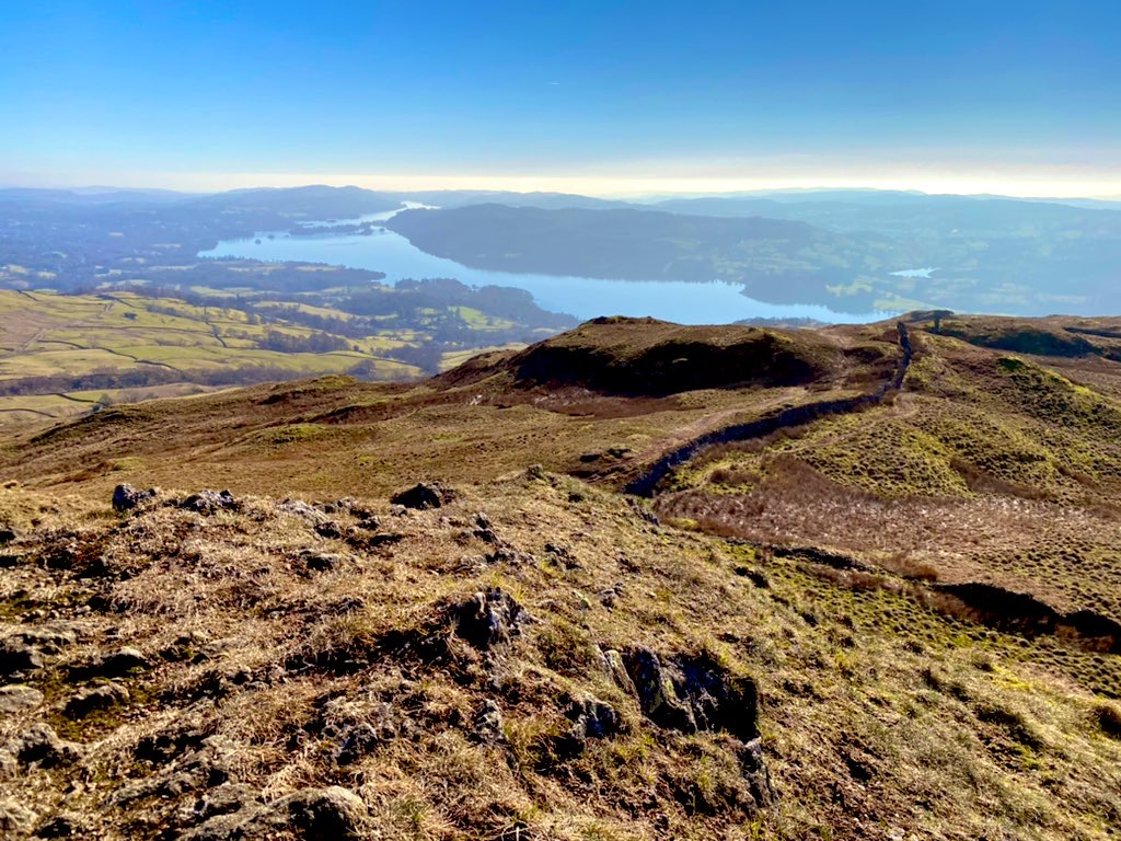 windermere from wansfell pike with an iphone