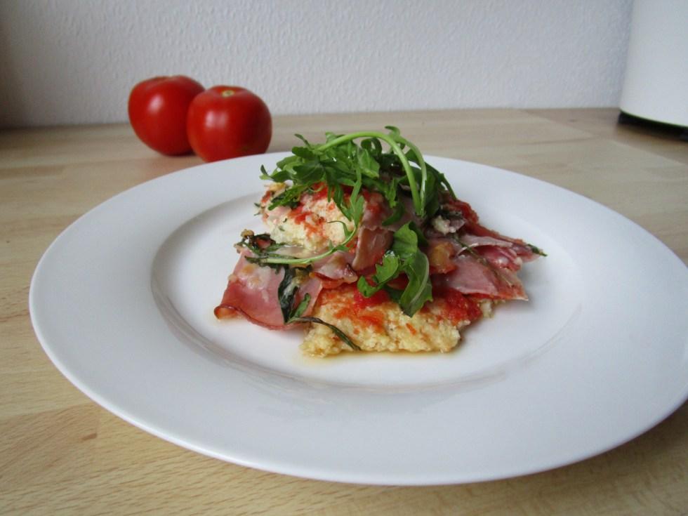 Blumenkohl-Pizza | Low Carb Rezept für Ausprobierer