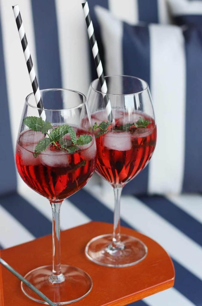 Ein neues Sommergetränk mit Ramazzotti Aperitivo Rosato  | Mi-Mini