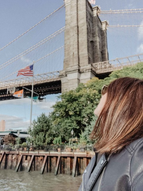 Nadine und die Brooklyn Bridge