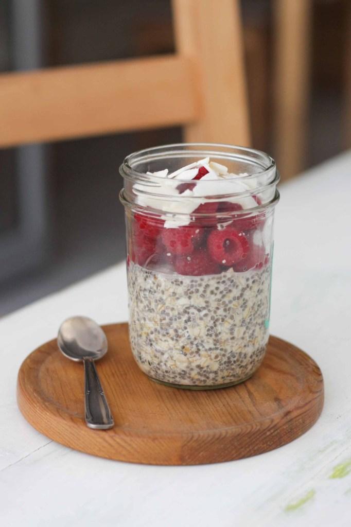 Ein Frühstück im Glas
