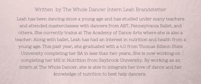 Leah Brandstetter Bio