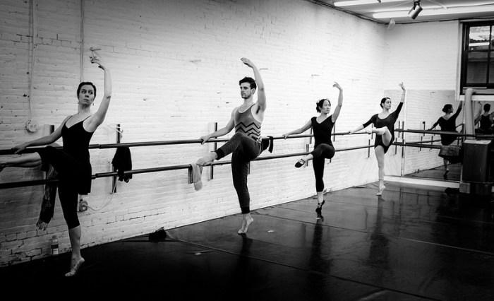 take ballet class somewhere new