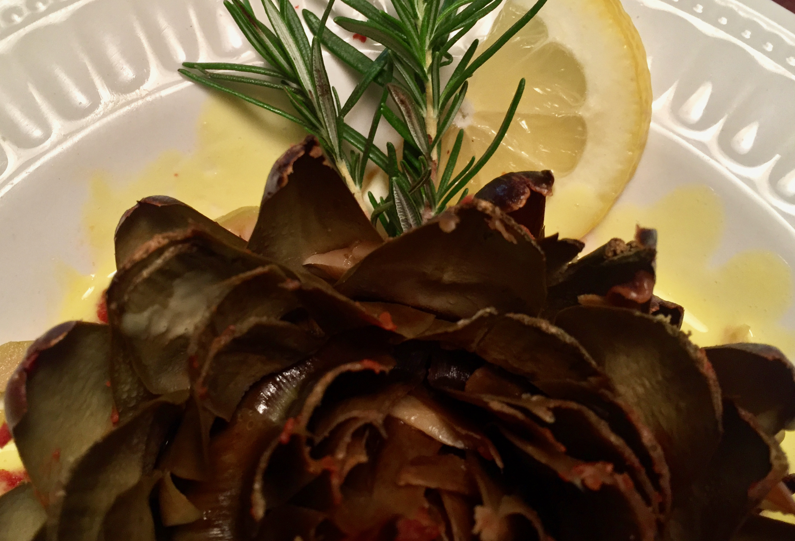 Roman Slow Cooker Artichokes, an Easy Spring Appetizer