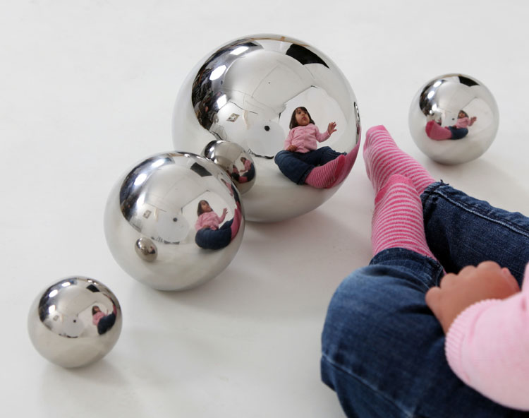 Shop By Category Sensory Sensory Reflective Silver Balls