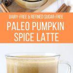 paleo pumpkin spice latte pin
