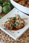 Chicken Stuffed Poblano Peppers from the Whole Smiths. Easy-to-make, paleo friendly, grain free and Whole30 compliant with modification.