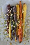 Roasted Carrots + Pine Nuts from the Whole Smiths. Paleo-friendly, gluten-free and Whole30 compliant. A MUST make!
