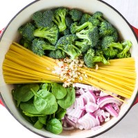 One Pot Broccoli Parmesan Pasta