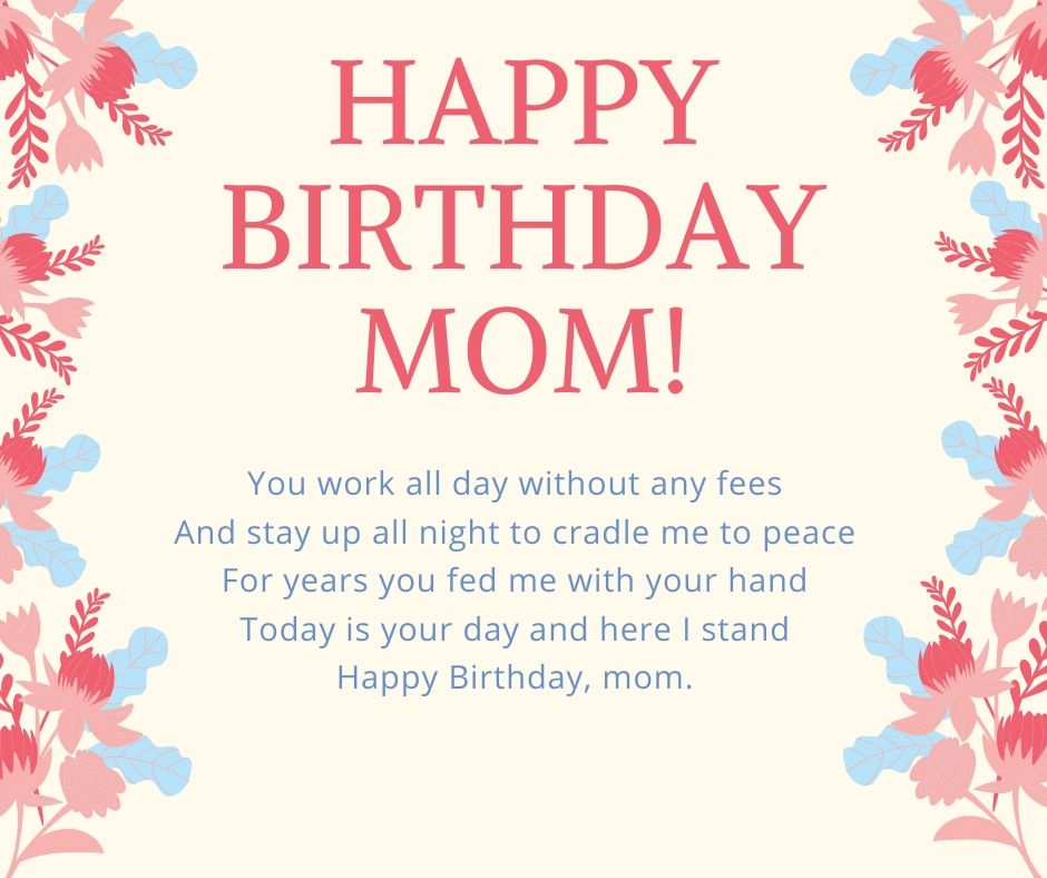Happy Birthday Quotes And Wishes For Mother Thewhyculture