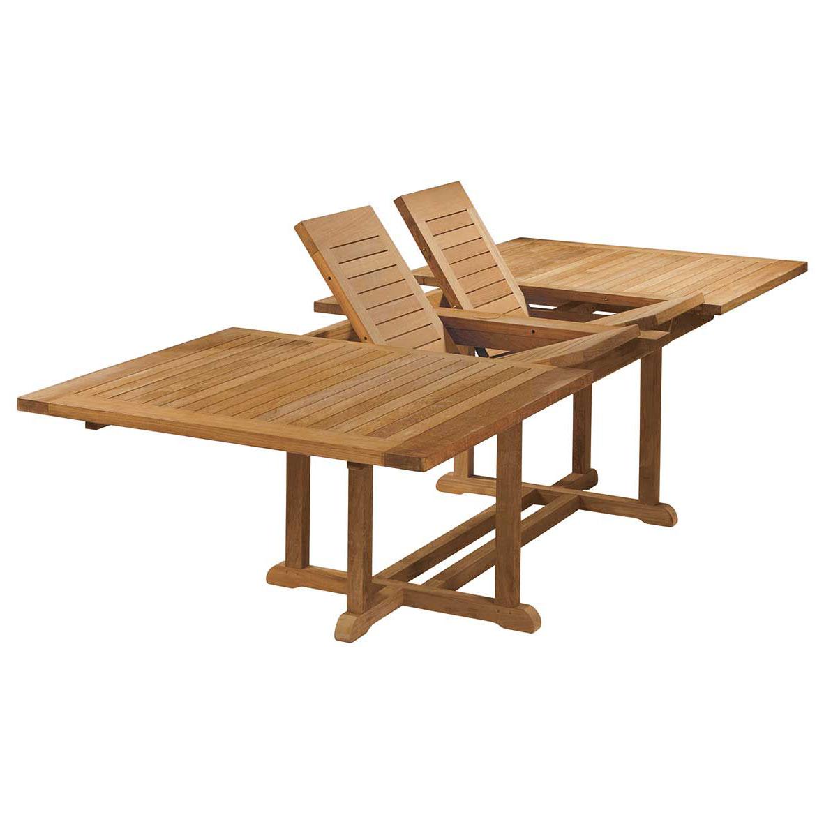 arundel teak extending table seats 8 10
