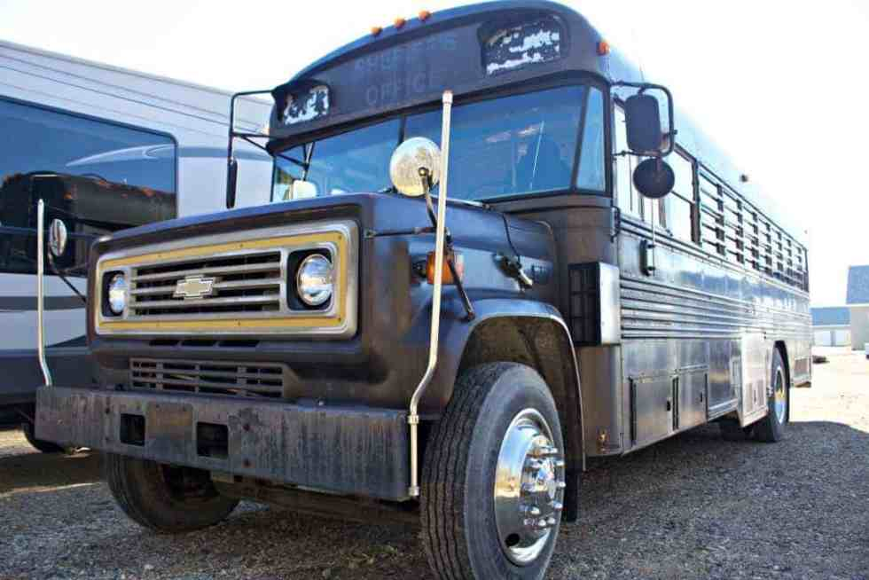 prison bus conversion tiny home project the wild drive