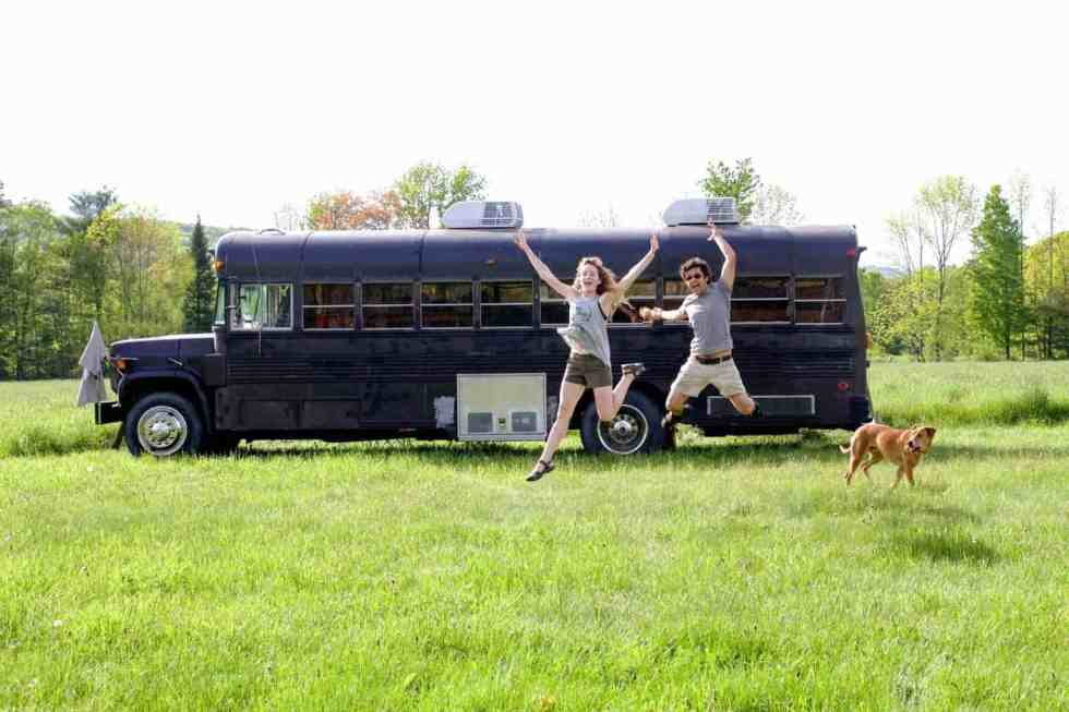the wild drive bus conversion tiny living blog